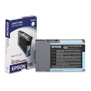 Original Epson T543500 inkjet cartridge - light cyan