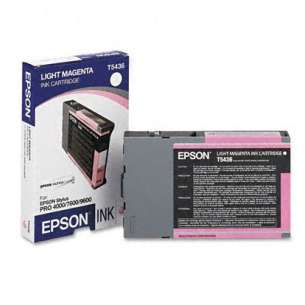 Original Epson T543600 inkjet cartridge - light magenta