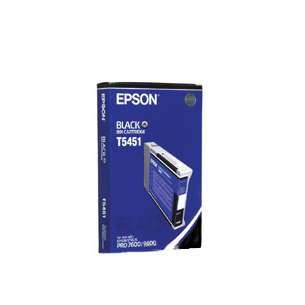 Original Epson T545100 inkjet cartridge - black cartridge