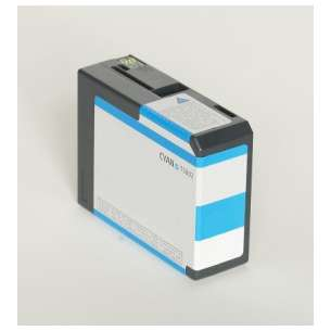 Compatible ink cartridge to replace Epson T580200 - cyan