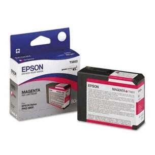 Original Epson T580300 inkjet cartridge - magenta