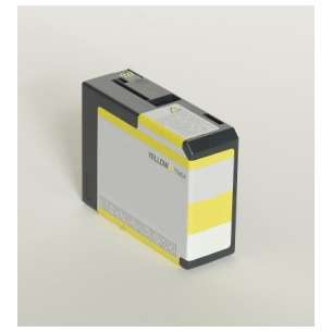 Compatible ink cartridge to replace Epson T580400 - yellow