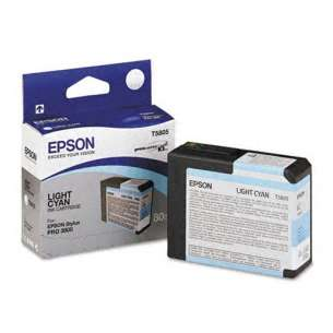Original Epson T580500 inkjet cartridge - light cyan