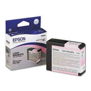 Original Epson T580600 inkjet cartridge - light magenta