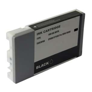 Compatible ink cartridge to replace Epson T603100 - ultrachrome black