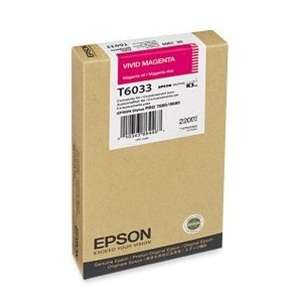 Original Epson T603300 inkjet cartridge - ultrachrome magenta