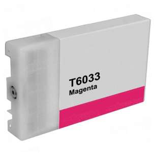 Compatible ink cartridge to replace Epson T603300 - ultrachrome magenta