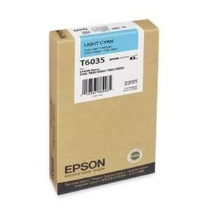 Original Epson T603500 inkjet cartridge - ultrachrome light cyan