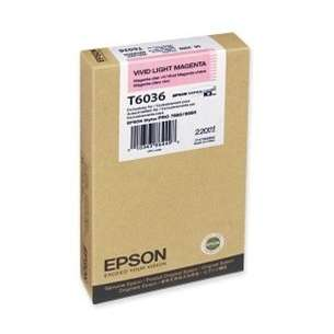 Original Epson T603600 inkjet cartridge - ultrachrome light magenta