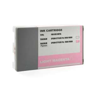 Compatible ink cartridge to replace Epson T603600 - ultrachrome light magenta