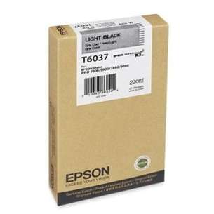 Original Epson T603700 inkjet cartridge - ultrachrome light black