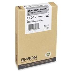 Original Epson T603900 inkjet cartridge - ultrachrome light light