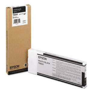 Original Epson T606100 inkjet cartridge - ultrachrome black