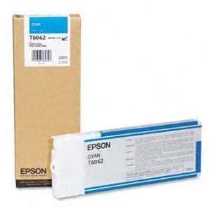 Original Epson T606200 inkjet cartridge - ultrachrome cyan