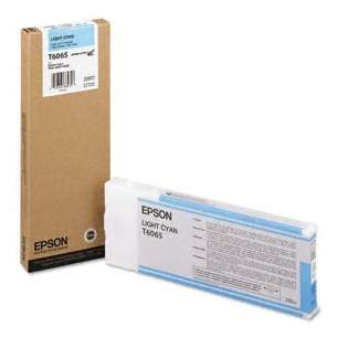 Original Epson T606500 inkjet cartridge - ultrachrome light cyan