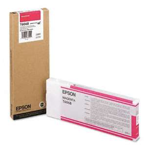 Original Epson T606B00 inkjet cartridge - ultrachrome K3 magenta