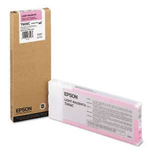 Original Epson T606C00 inkjet cartridge - ultrachrome K3 light magenta