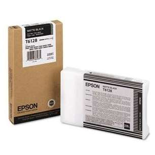 Original Epson T612800 inkjet cartridge - ultrachrome matte black