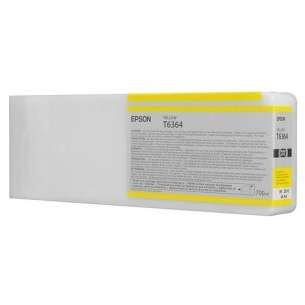 Original Epson T636400 inkjet cartridge - ultrachrome yellow
