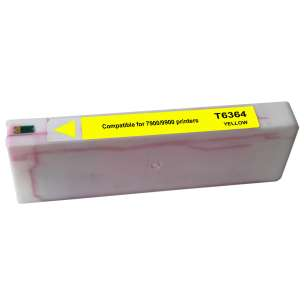 Remanufactured Epson T636400 inkjet cartridge - yellow