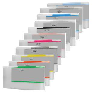 Compatible inkjet cartridges Multipack for Epson T653 - 11 pack