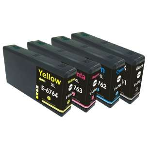 Remanufactured inkjet cartridges Multipack for Epson 676XL - 4 pack