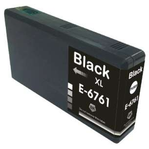 Remanufactured Epson T676XL120 (676XL ink) inkjet cartridge - high capacity pigmented black