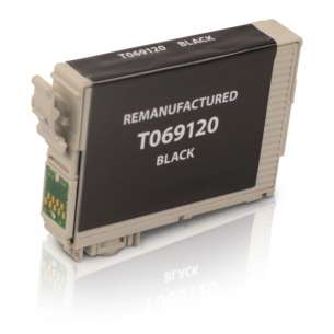 Remanufactured Epson T069120 (69 ink) inkjet cartridge - black cartridge
