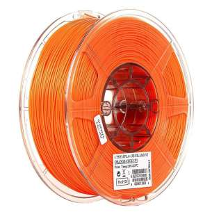eSUN 1.75mm PLA PRO (PLA+) 3D Printer Filament 1KG Spool (2.2lbs), Orange