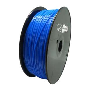3D Filament (Bison3D brand) for 3D Printing, 1.75mm, 1kg/roll, Blue (Flexible)