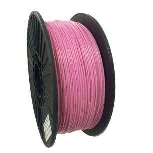3D Filament (Bison3D brand) for 3D Printing, 1.75mm, 1kg/roll, Pink (Flexible)