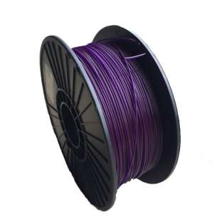 3D Filament (Bison3D brand) for 3D Printing, 1.75mm, 1kg/roll, Purple (Flexible)