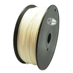 3D Filament (Bison3D brand) for 3D Printing, 1.75mm, 1kg/roll, White (Flexible)