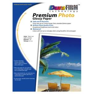 Glossy Photo Paper (100 sheets / pack) - DuraFirm Technology Glossy Photo Paper