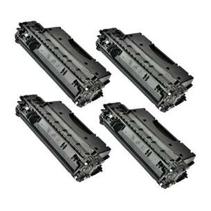 Compatible for HP CE505X (05X) toner cartridges - 4-pack