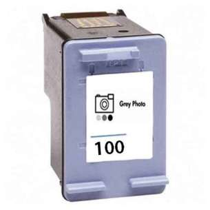 Remanufactured HP C9368AN (HP 100 ink) inkjet cartridge - photo gray