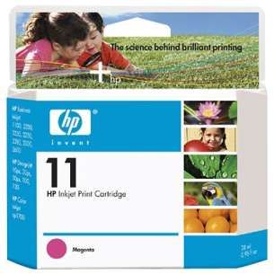 Original Hewlett Packard (HP) C4837AN (HP 11 ink) inkjet cartridge - magenta