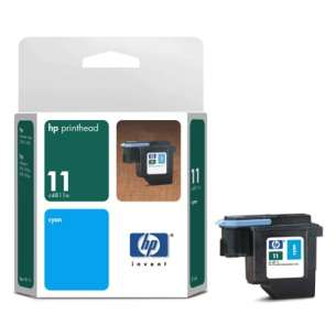 Original Hewlett Packard (HP) C4811A (HP 11 ink) inkjet cartridge - cyan