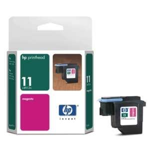 Original Hewlett Packard (HP) C4812A (HP 11 ink) inkjet cartridge - magenta