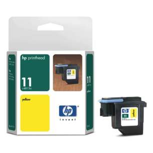 Original Hewlett Packard (HP) C4813A (HP 11 ink) inkjet cartridge - yellow