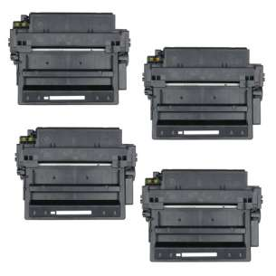 Compatible Atlantic Inkjet Canada HP Q6511X (11X) toner cartridges - 4-pack