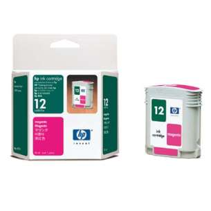 Original Hewlett Packard (HP) C4805A (HP 12 ink) inkjet cartridge - magenta