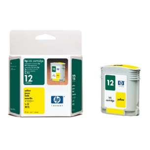 Original Hewlett Packard (HP) C4806A (HP 12 ink) inkjet cartridge - yellow