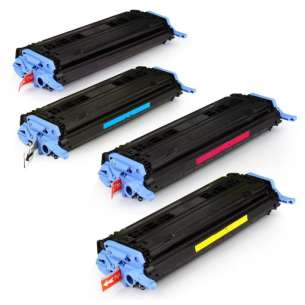 Compatible Atlantic Inkjet Canada HP 124A toner cartridges - 4-pack