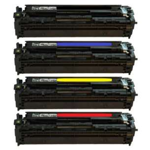 Compatible Atlantic Inkjet Canada HP 128A toner cartridges - 4-pack
