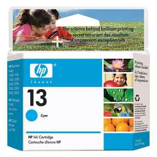 Original Hewlett Packard (HP) C4815A (HP 13 ink) inkjet cartridge - cyan