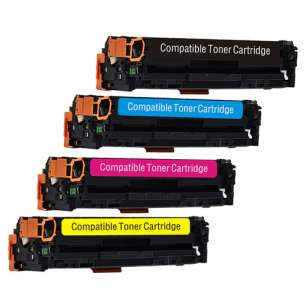 Compatible Atlantic Inkjet Canada HP 131X / 131A toner cartridges - 4-pack