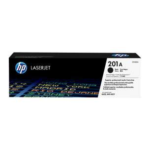 Original Hewlett Packard (HP) CF400A (201A) toner cartridge - black cartridge