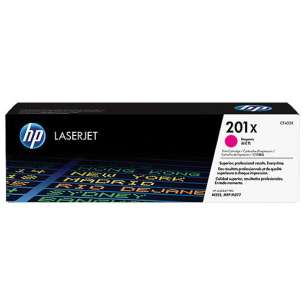 Original Hewlett Packard (HP) CF403X (201X) toner cartridge - high capacity magenta