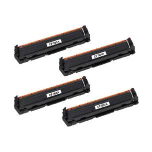 Compatible HP CF500A / CF501A / CF503A / CF502A (202A) toner cartridges - 4-pack